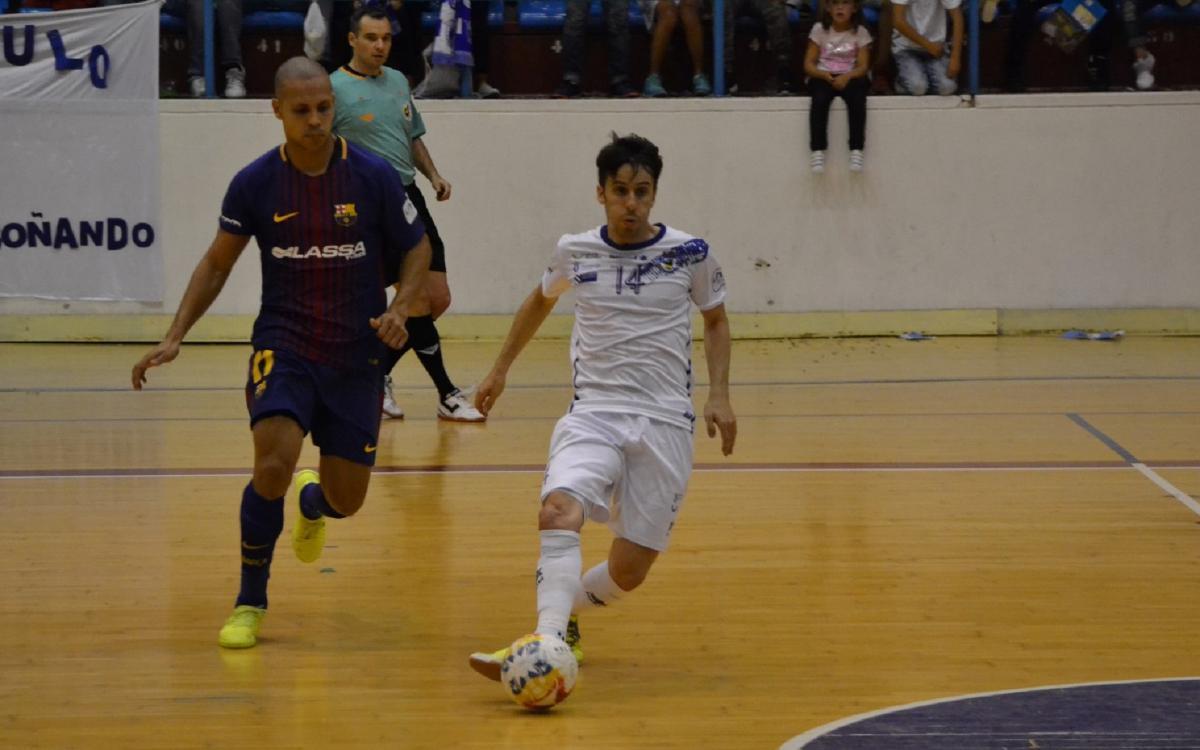 O Parrulo Ferrol - FC Barcelona Lassa: Victoria de oficio en una pista complicada (1-4)