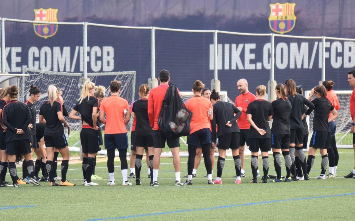 Així serà la pretemporada del Barça Femení