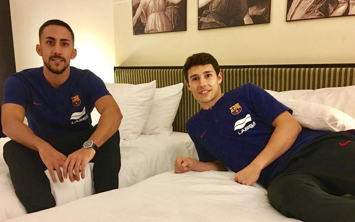 Joselito y Roger, la habitación del buen rollo
