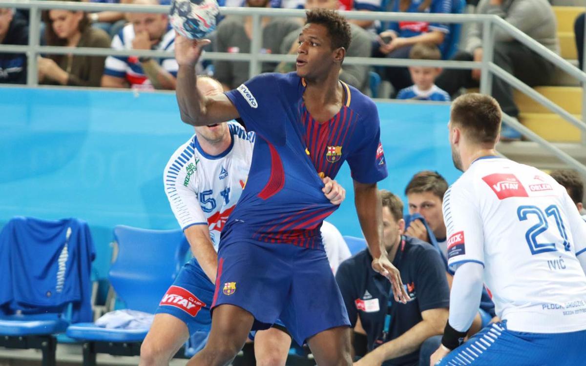 Wisla Plock - FC Barcelona Lassa: Contundencia en el Orlen Arena (30-37)