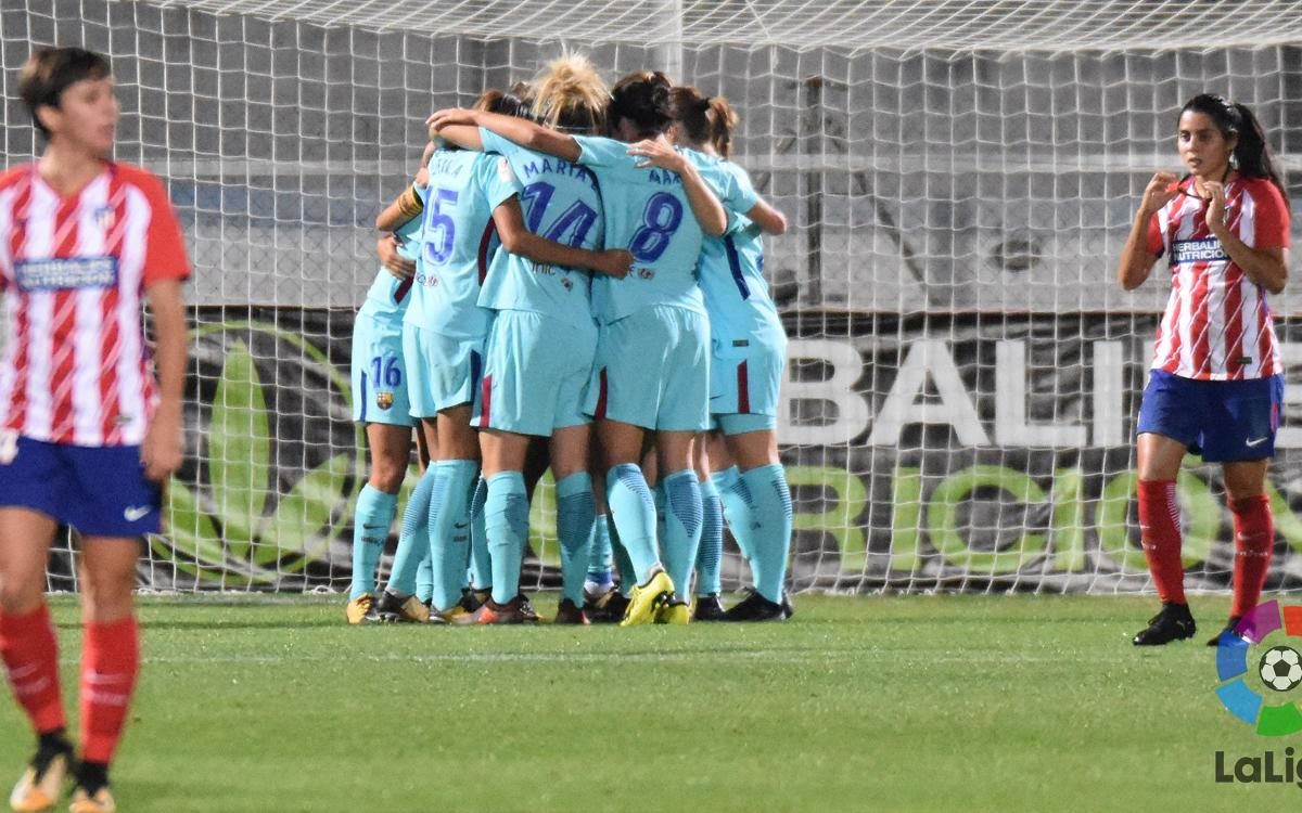 Atlético Madrid v FC Barcelona Women: Still top after stalemate (1-1)