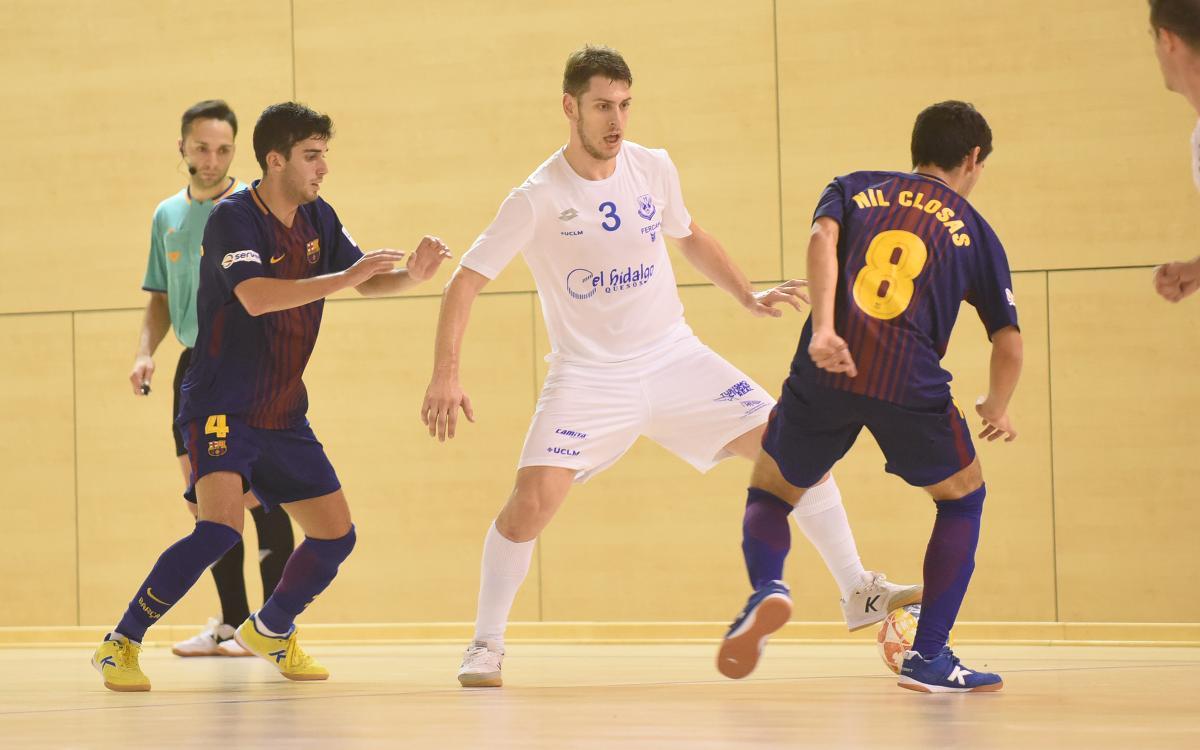 Barça Lassa B 3-4 Manzanares FS: Final cruel