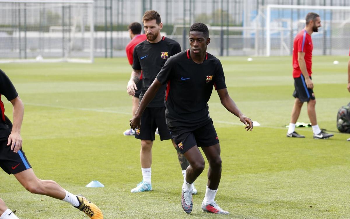 Leo Messi y siete internacionales más se incorporan a los entrenamientos