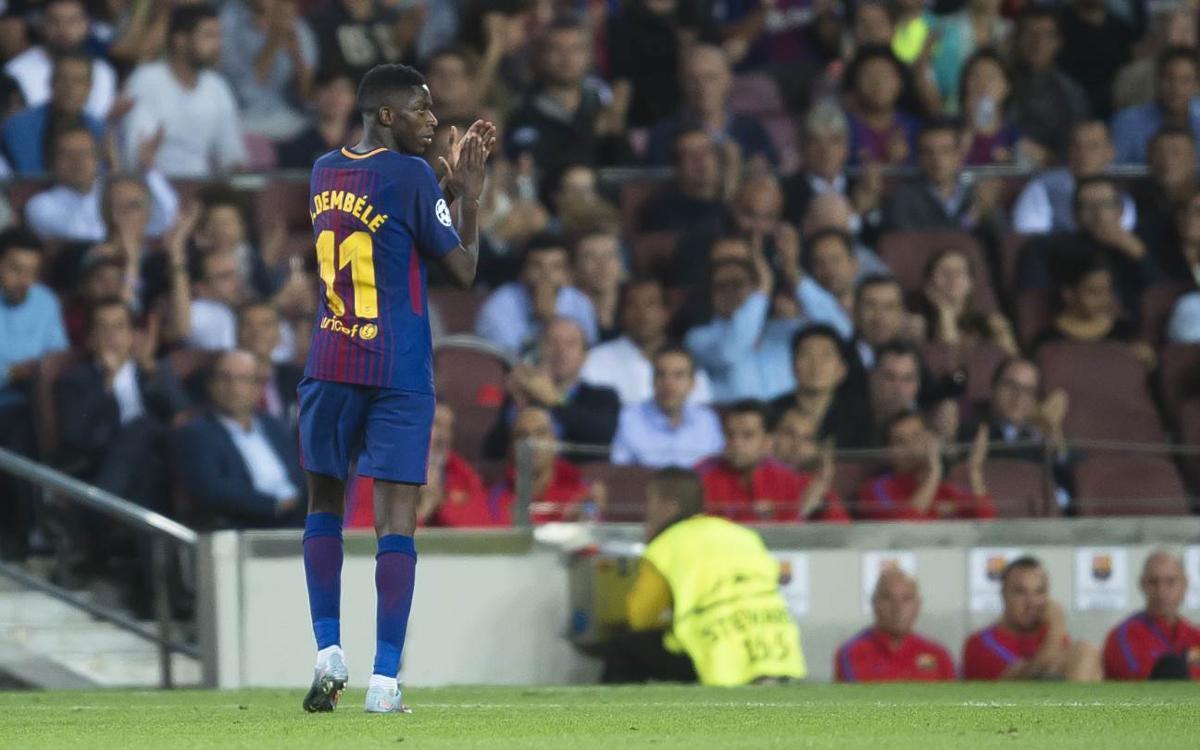 Dembelé, entre els tres finalistes del Golden Boy 2017