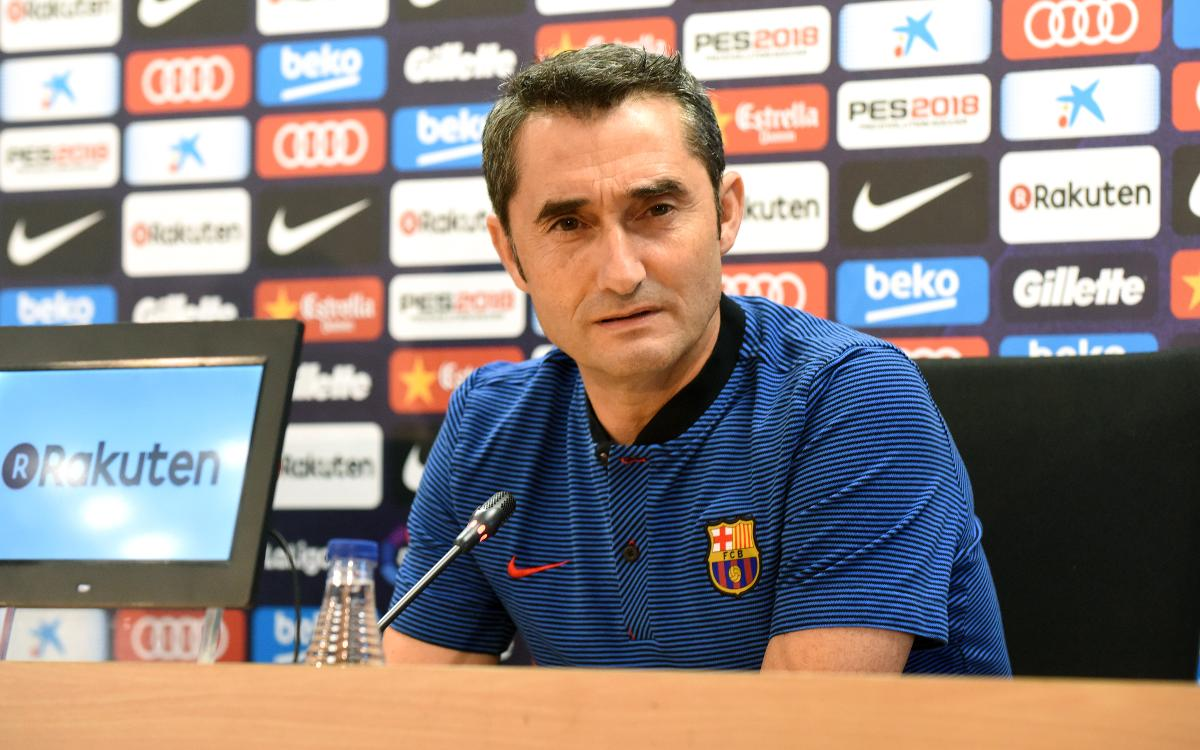 Valverde: We have to be right mentally