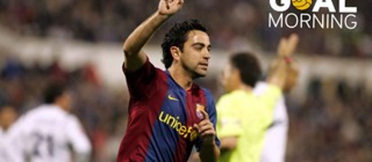 Goal Morning! Xavi, the quality standard