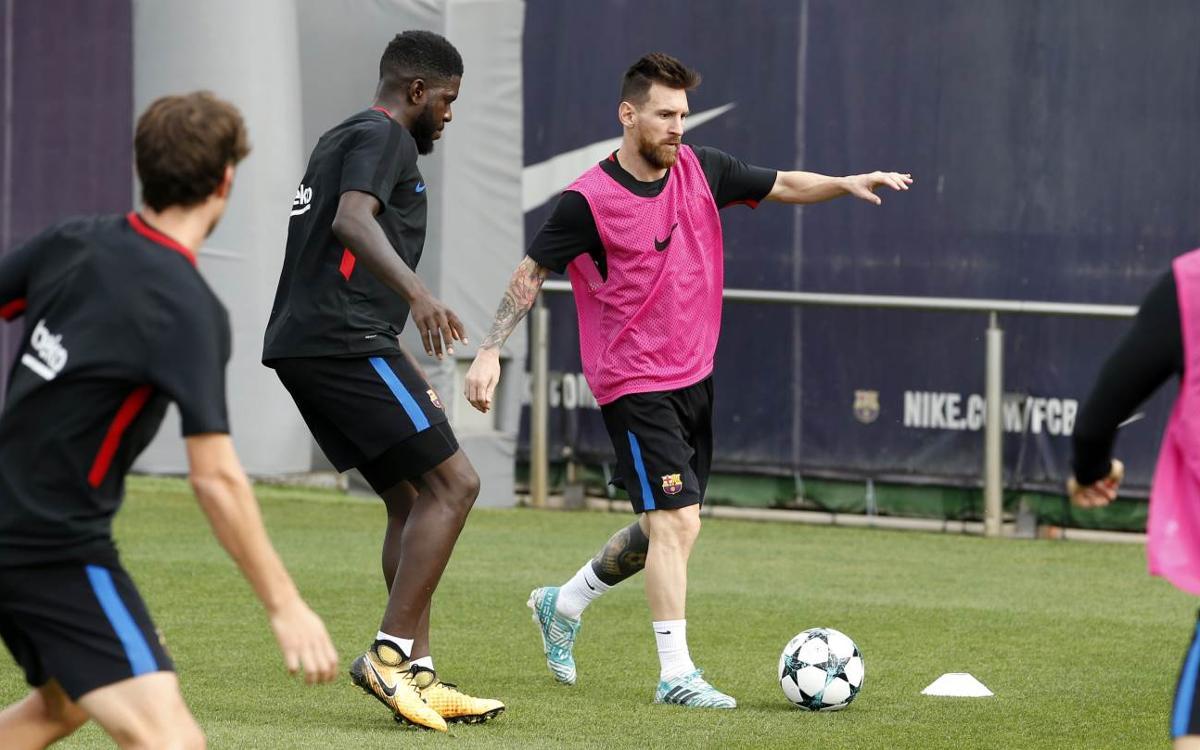 Le groupe du Barça pour aller défier le Sporting Club Portugal