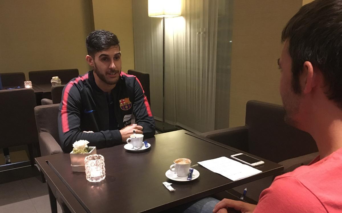 Un cafè amb Adolfo Fernández