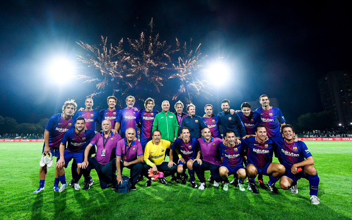 Nou partit dels Barça Legends a Bombai
