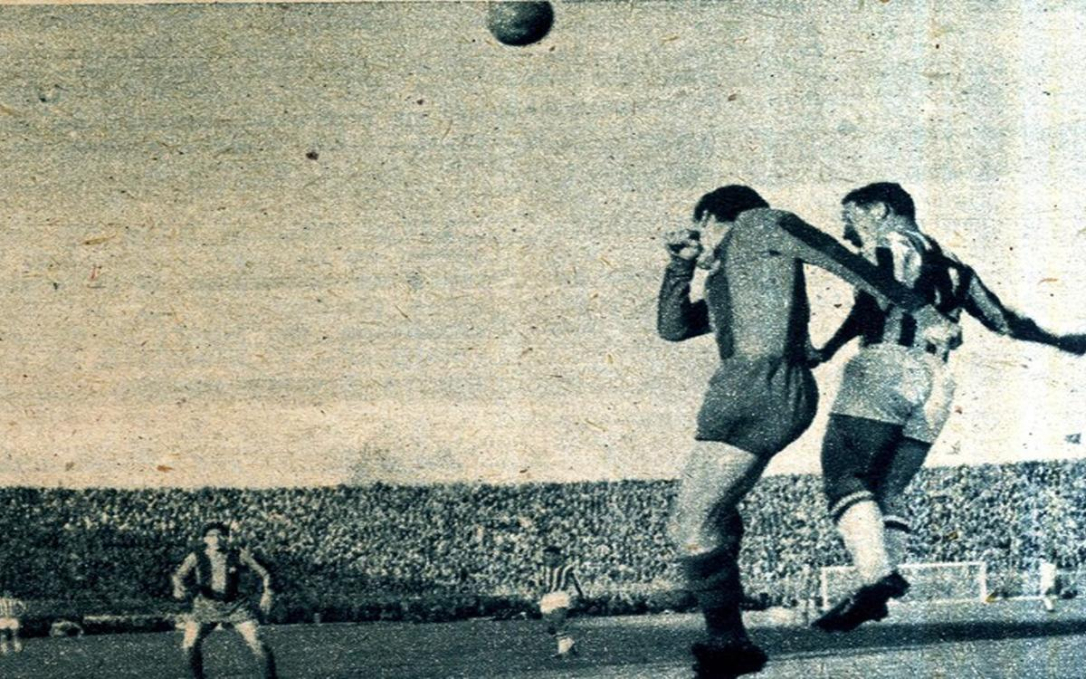 1962: When Barça visited Greece, and Olympiakos, for the first time
