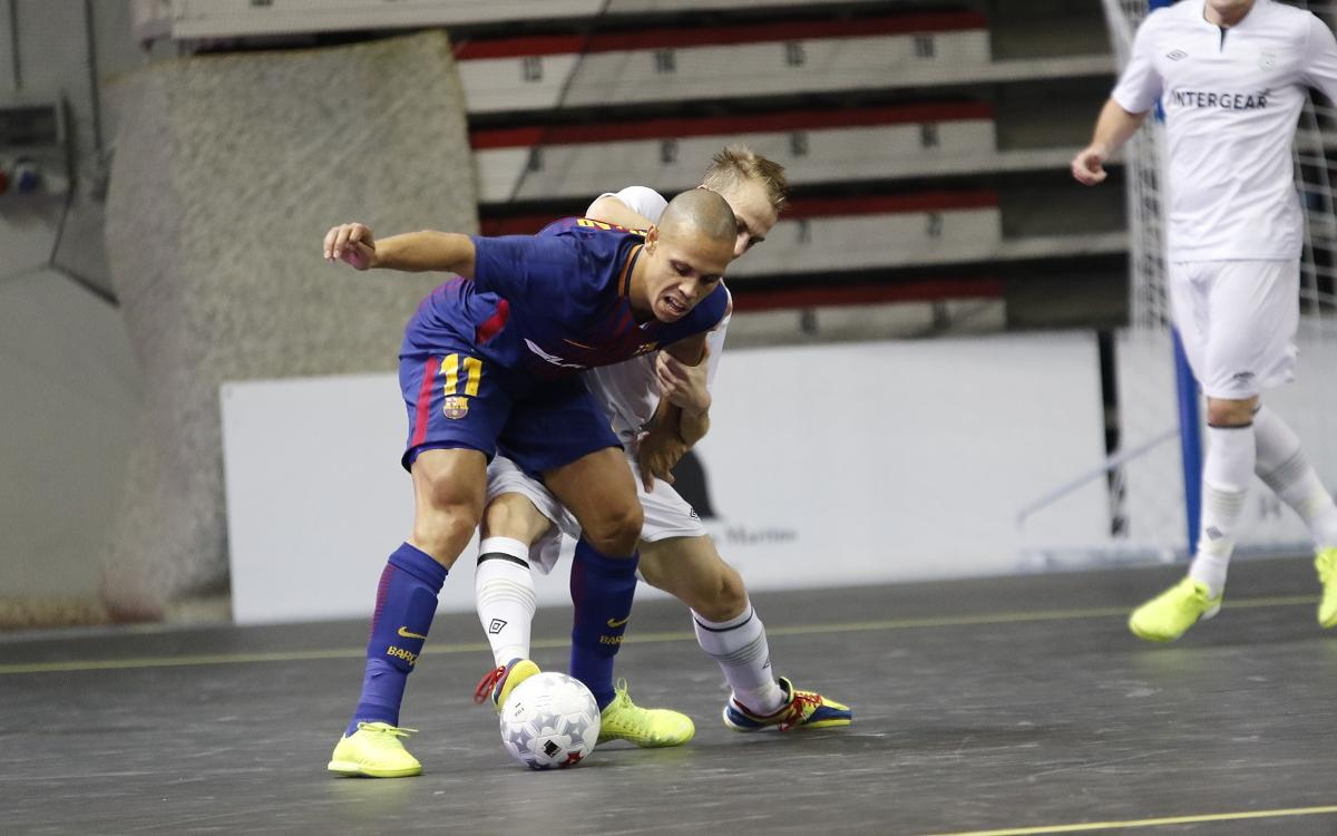 Era-Pack Chrudim 0-2 FC Barcelona Lassa: Into the elite round