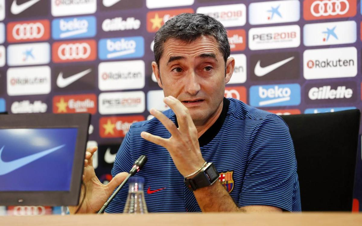 Valverde: Atlético are candidates for title