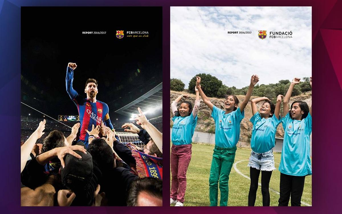 Consult the annual reports from FC Barcelona for the season 2016/17