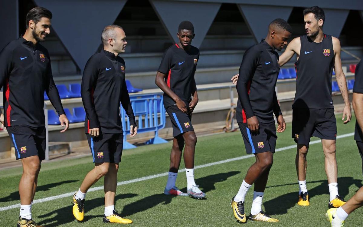 El plan de entrenamientos de una semana marcada por el debut en la Champions