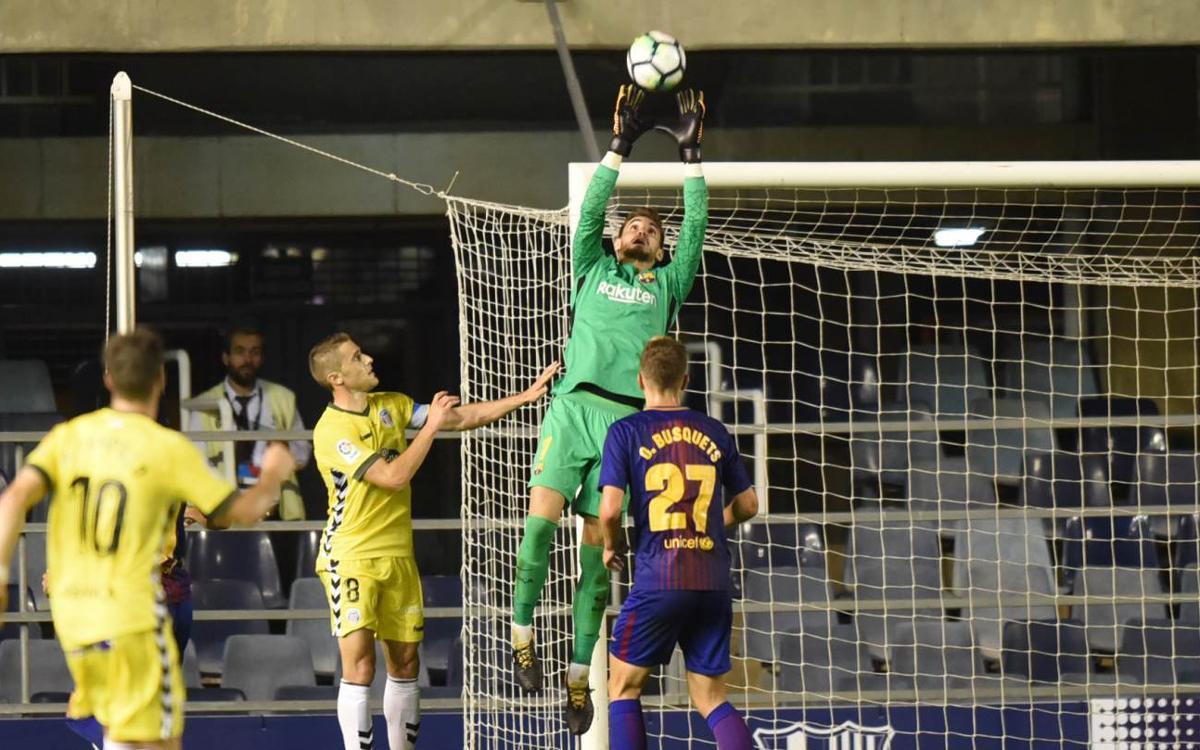 Jokin Ezkieta i J. Cuenca, dos debuts més a La Liga 123