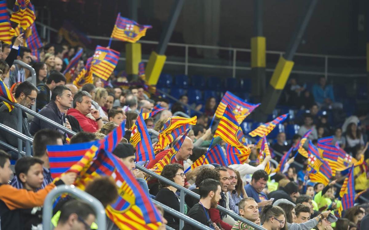 El Palau Blaugrana registra un 11,9% más de espectadores en los partidos de hockey