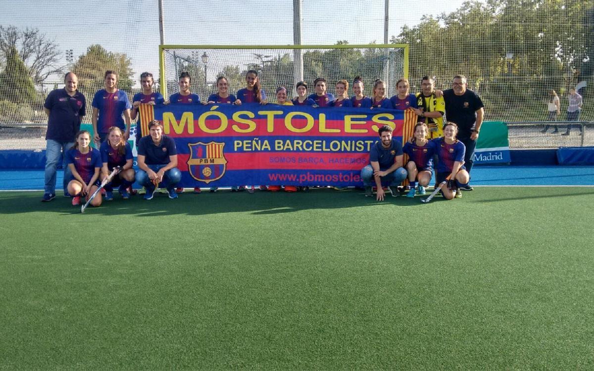 El Barça femení d'hoquei herba continua invicte a Primera Divisió