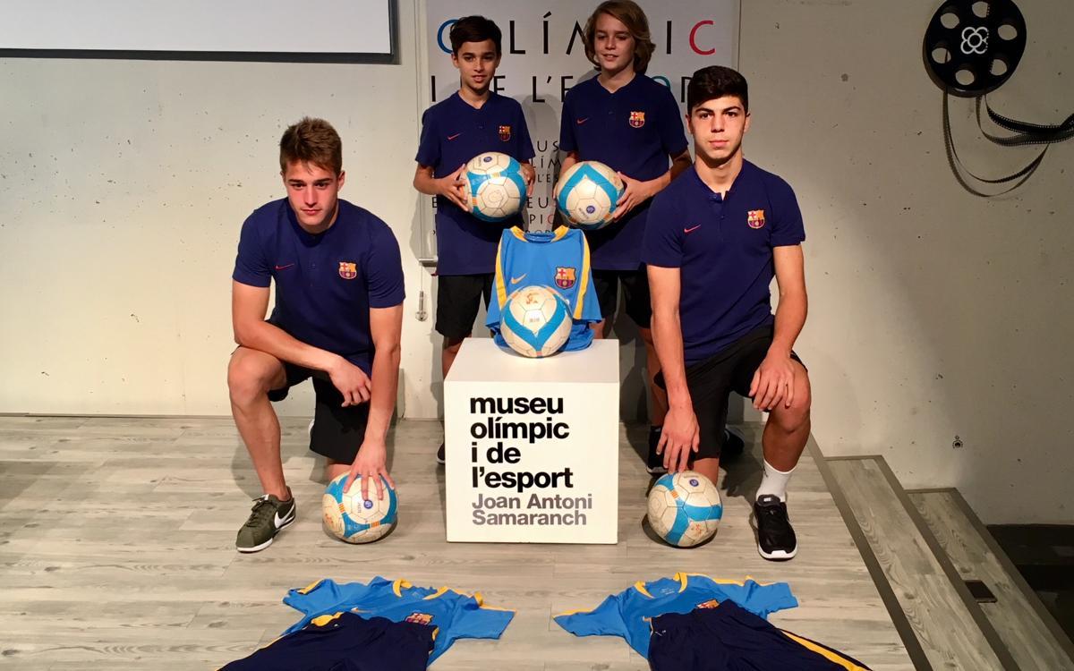 La Masía colabora con la Navidad Solidaria del Museo Olímpico y del Deporte