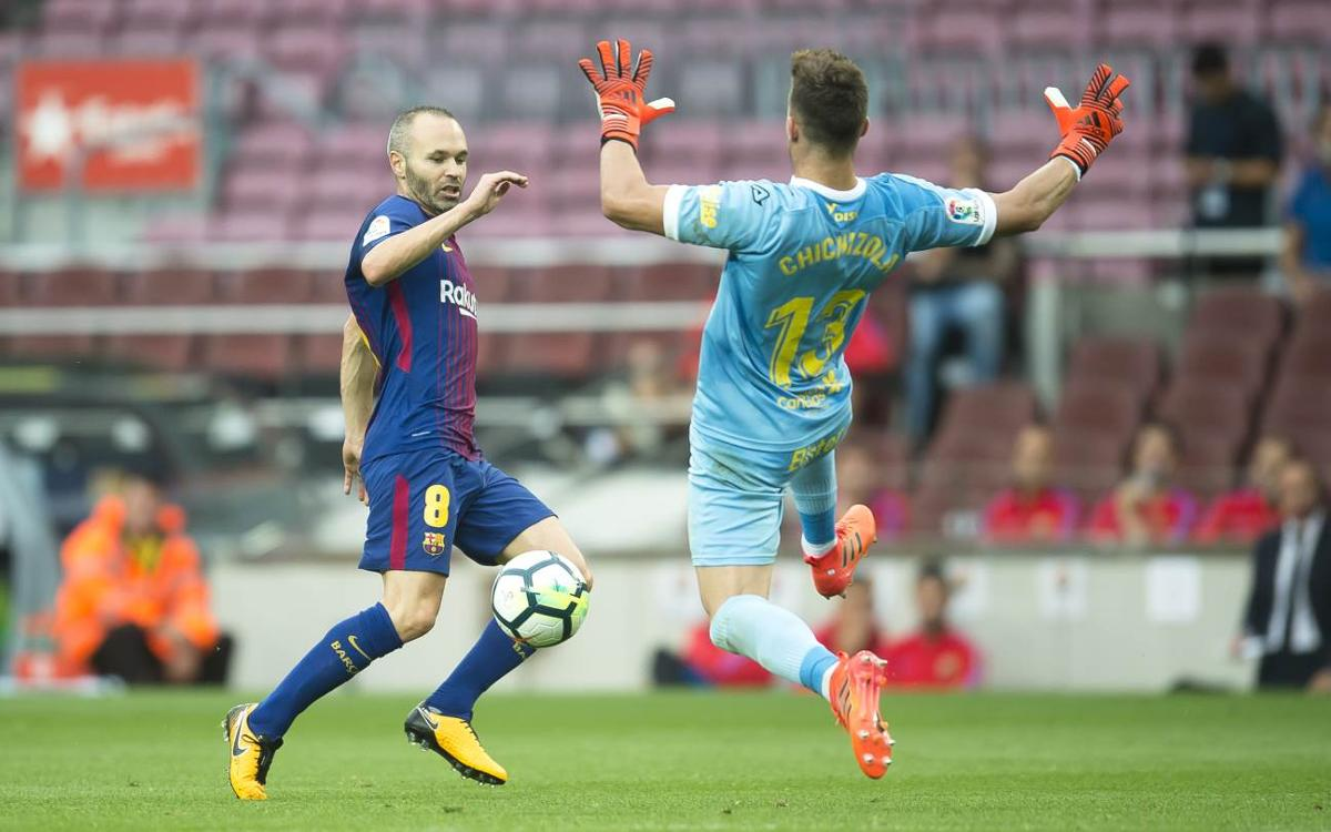 Andrés Iniesta injury news