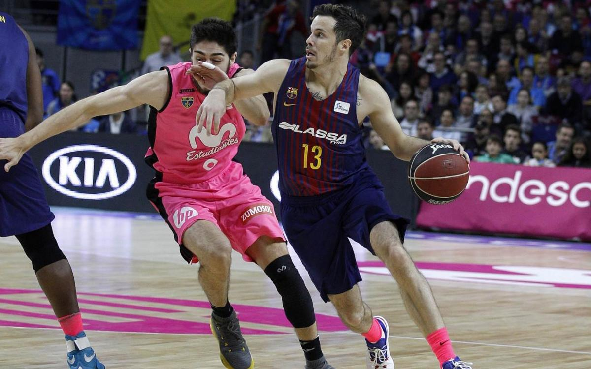 Estudiantes v FC Barcelona Lassa: Beaten in final period (80-70)