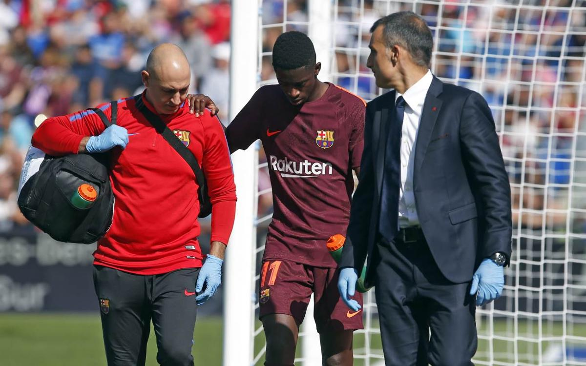 Ousmane Dembélé medical announcement