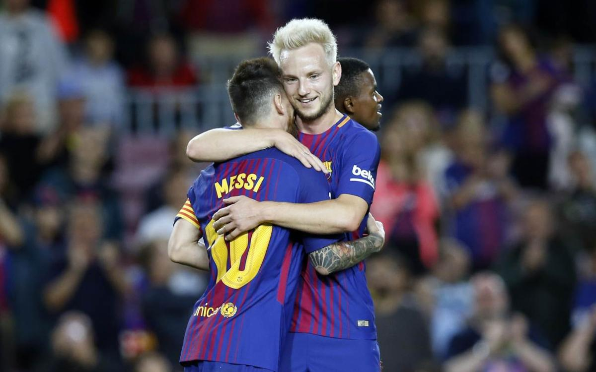 Ivan Rakitic: 'If you don't enjoy football at Barcelona, you don't enjoy football'