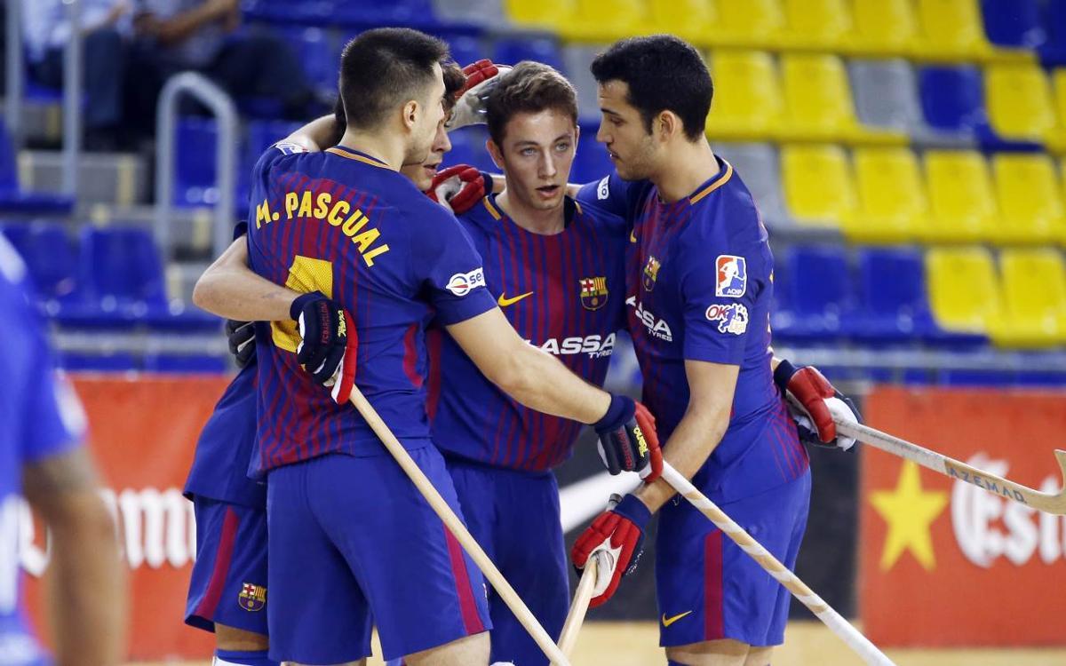 FC Barcelona Lassa – CP Voltregà: Classificats per a la Final a Quatre de la Lliga Catalana (9-5)