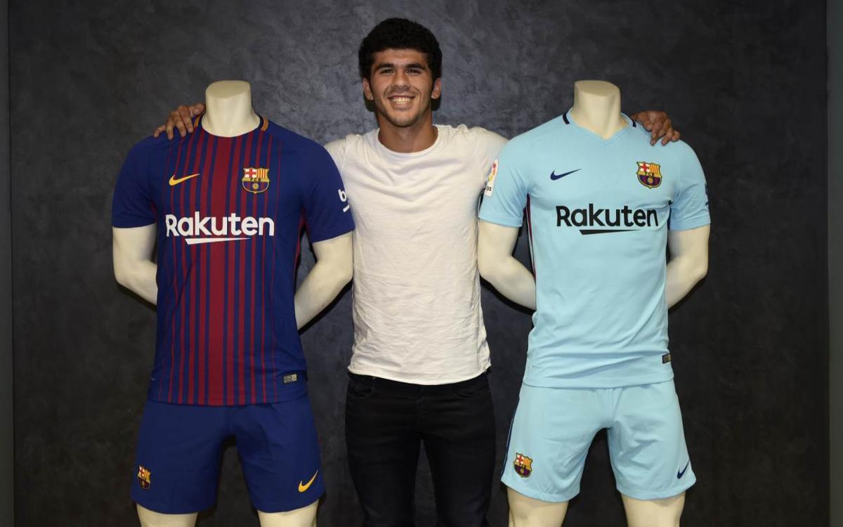 Aleñá ready to give everything for the Barça shirt