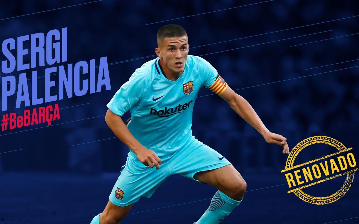 Sergi Palencia firma hasta 2020