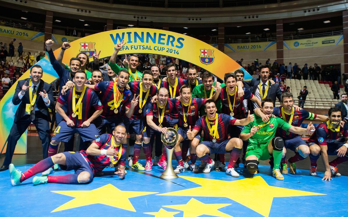 El Barça Lassa afronta su quinta participación en la UEFA Futsal Cup