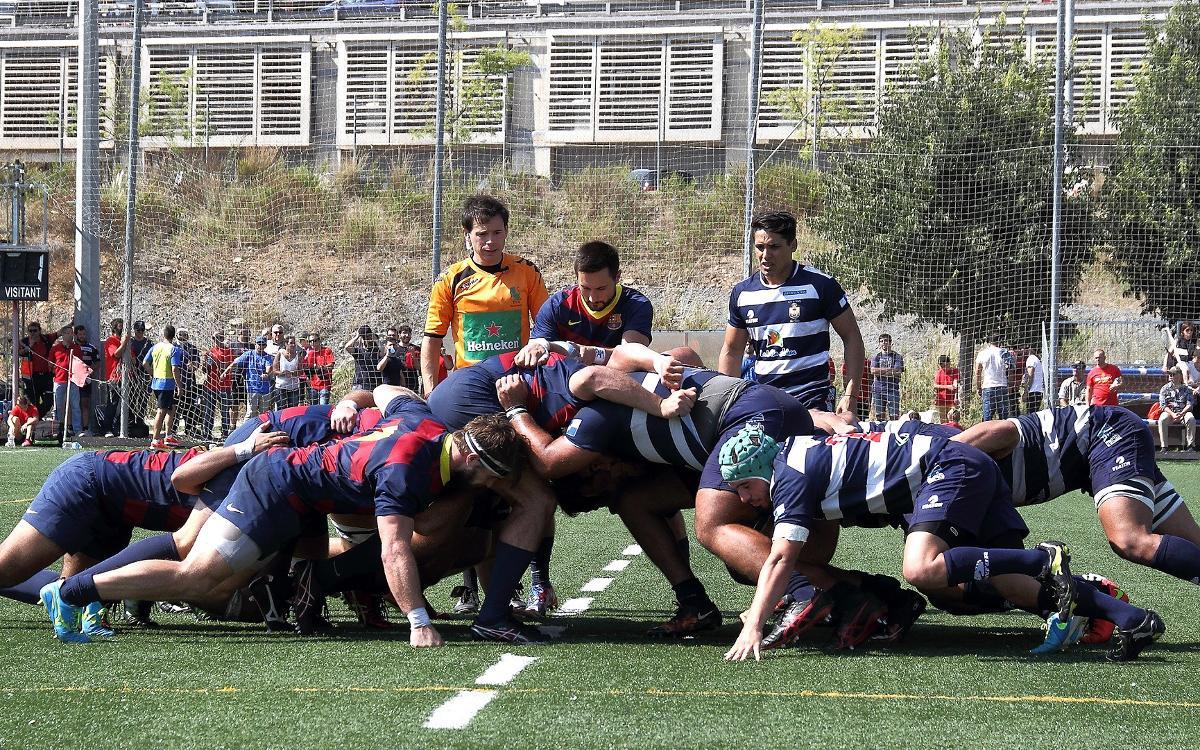 Tres victorias consecutivas del Barça de Rugby