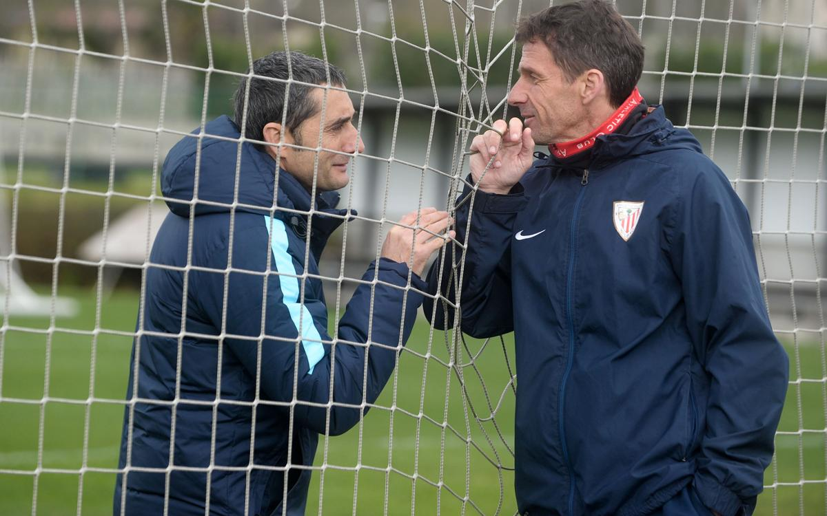 Valverde and Ziganda are back at San Mamés