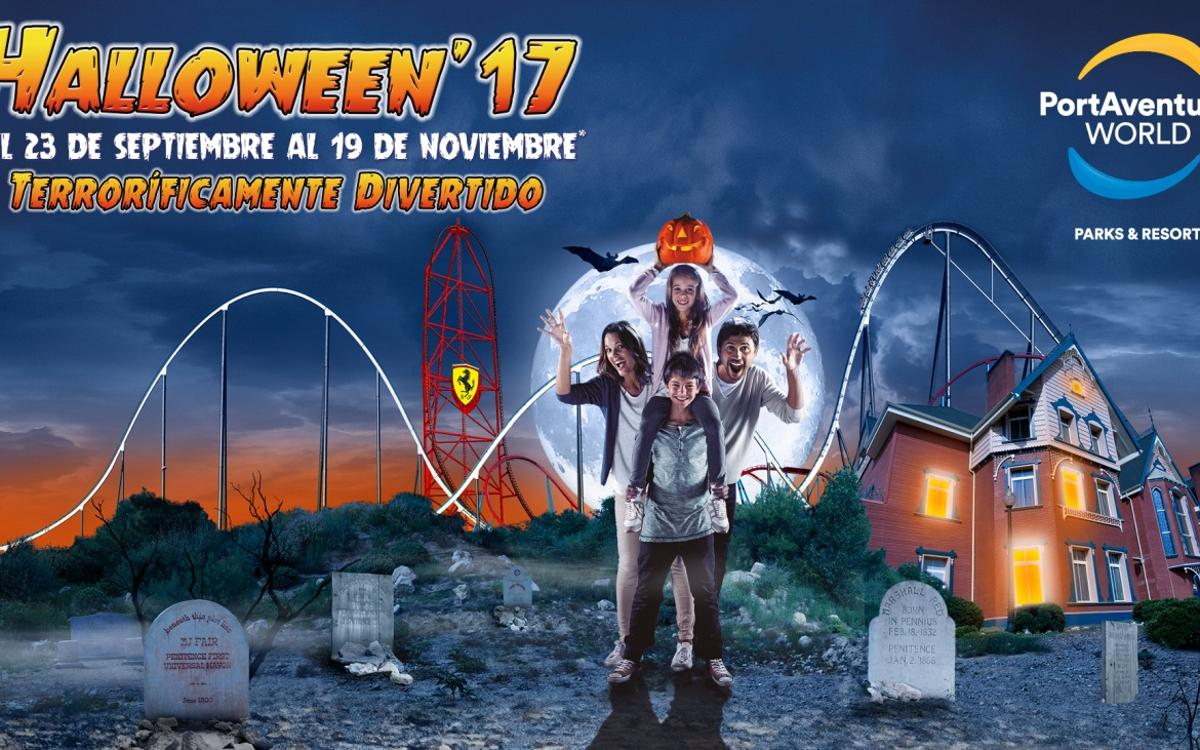 2x1 en Halloween'17 de PortAventura World para socios