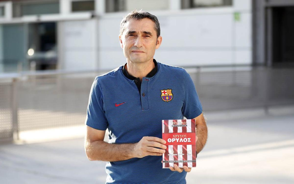 Ernesto Valverde: 'I left a part of my heart at Olympiacos'
