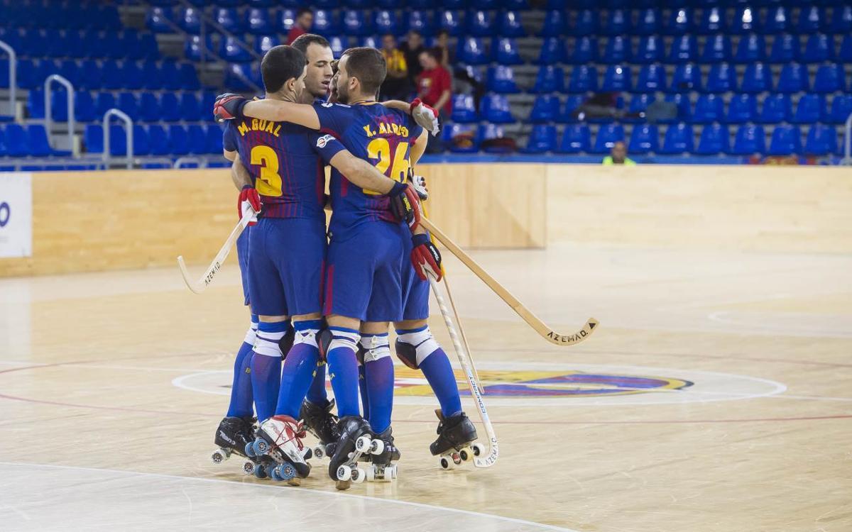 FC Barcelona Lassa - PAS Alcoy: Triunfo trabajado para cerrar la fase de grupos (3-1)