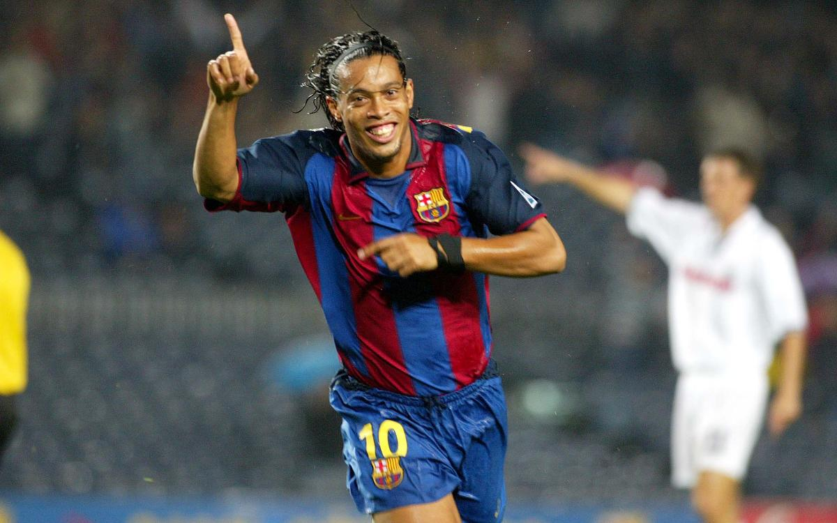 Debut goals at the Camp Nou