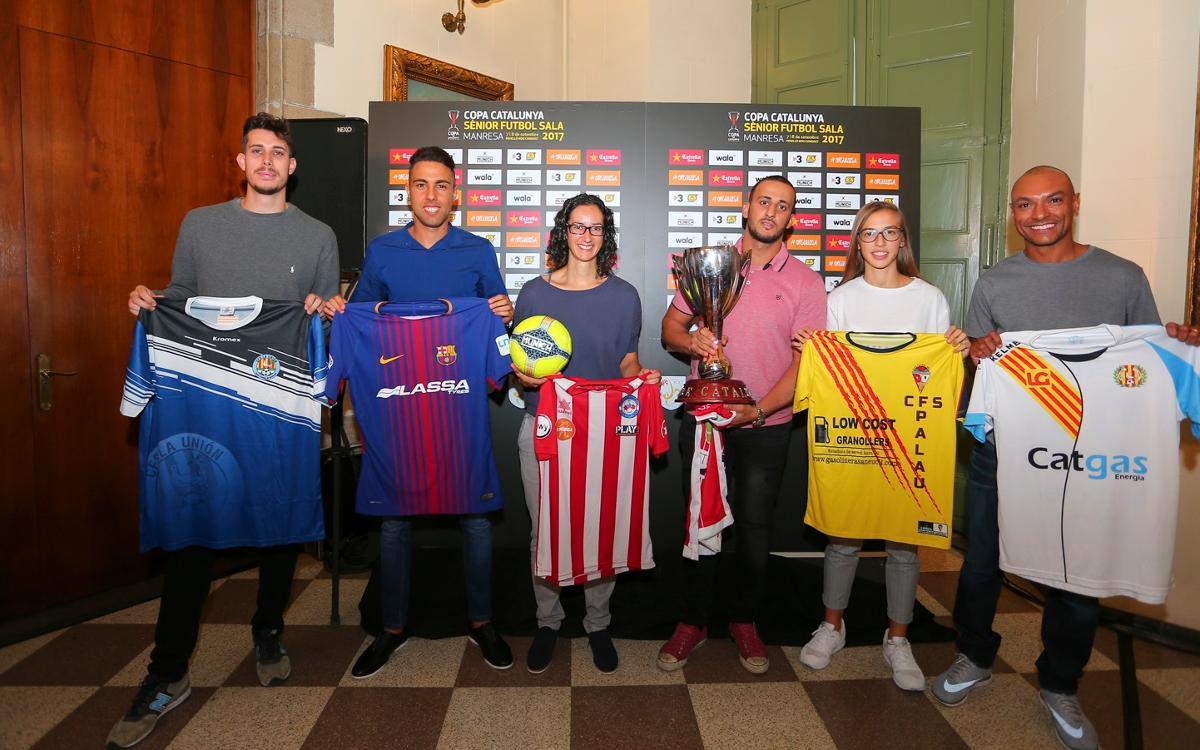 Comença la defensa de la Copa Catalunya