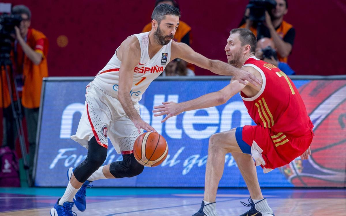 Juan Carlos Navarro y Pierre Oriola consiguen el bronce en el Eurobasket