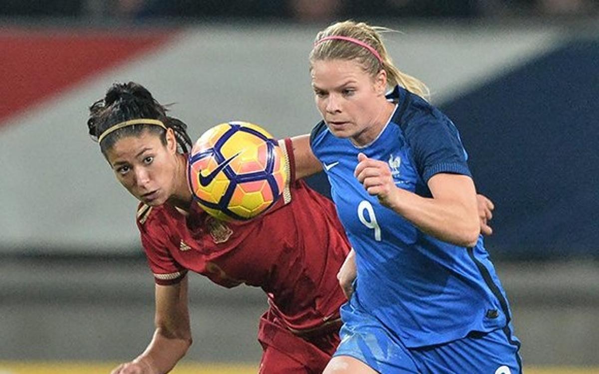 Vuit jugadores del Barça participen en la derrota de la selecció espanyola contra França (1-0)