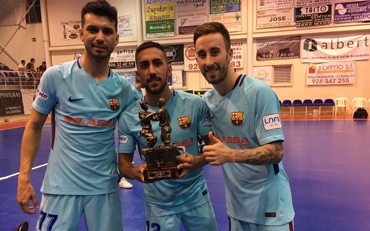 FS Valdepeñas 0-7 FC Barcelona Lassa: Win in Joan Linares testimonial