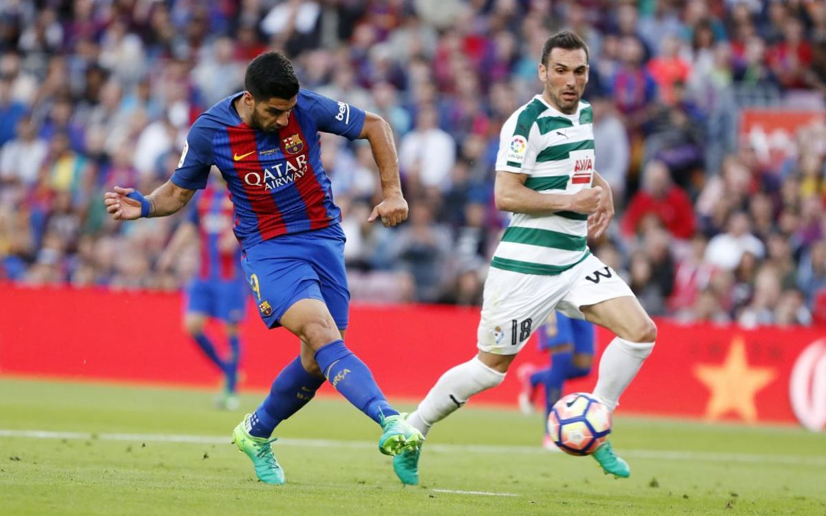 Barça-Eibar, synonymous with goals