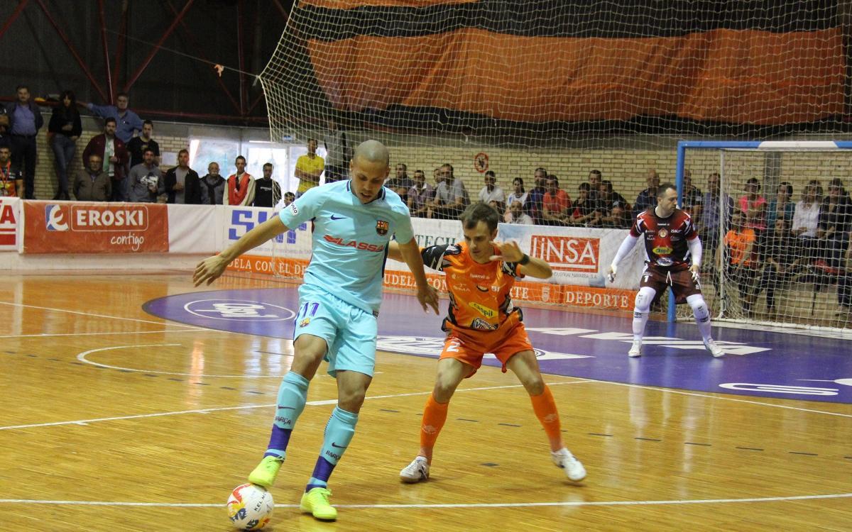 Aspil Vidal Ribera Navarra - FC Barcelona Lassa: La Liga starts at a good pace (0-5)