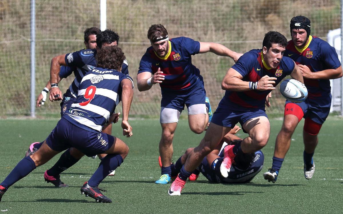 El FC Barcelona Rugby suma los primeros 5 puntos contra el CR La Vila (36-11)