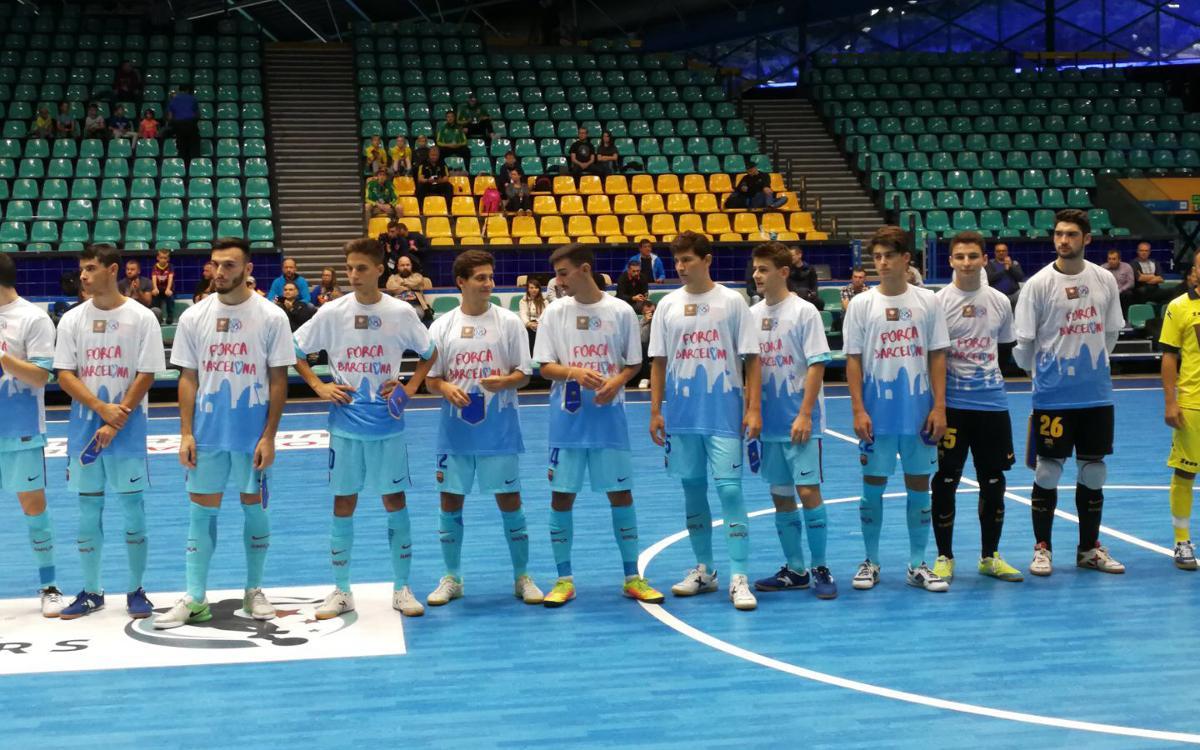 El Barça Lassa B finaliza tercero en Polonia
