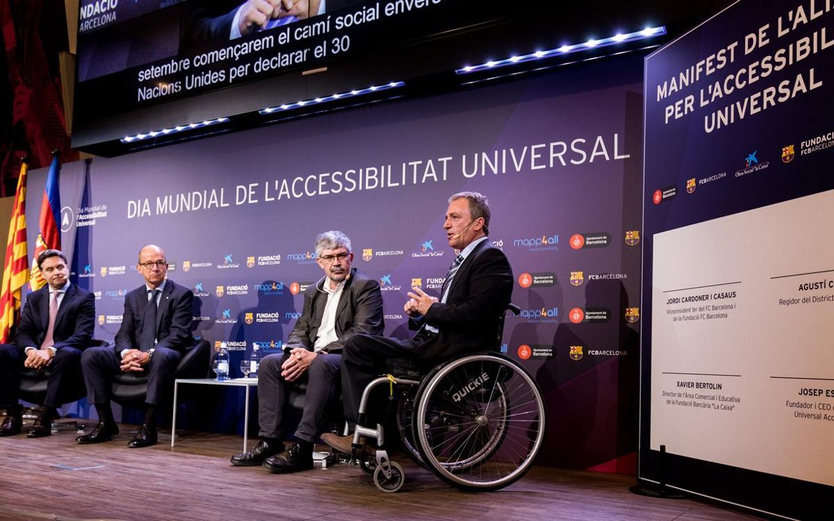 Signa i dona suport a la petició pel Dia Mundial de l'Accessibilitat Universal