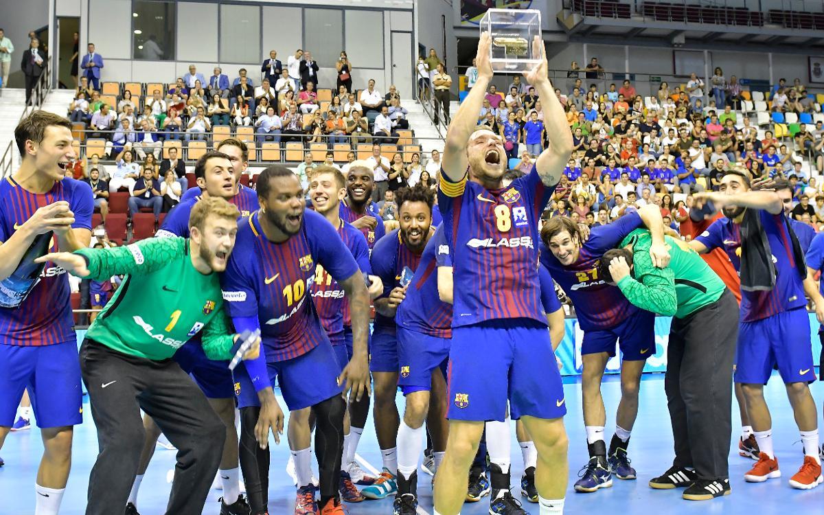 Sexta Supercopa Asobal consecutiva del Barça Lassa
