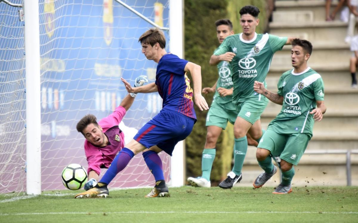 Barça U19 A 2-2 Unificación Bellvitge: Keepers decide the outcome