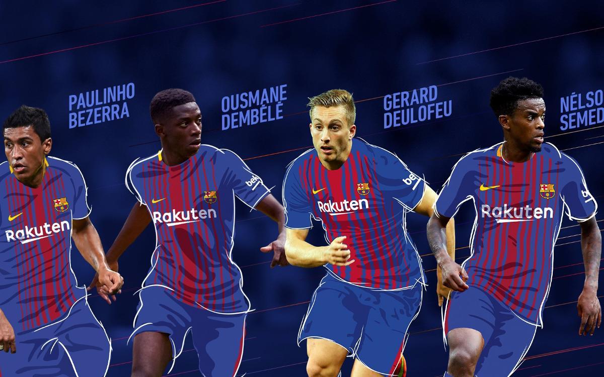 Les mouvements de l'été 2017 du FC Barcelone