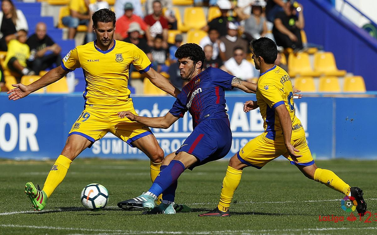 AD Alcorcon 1-1 FC Barcelona B: Aleña snatches late draw