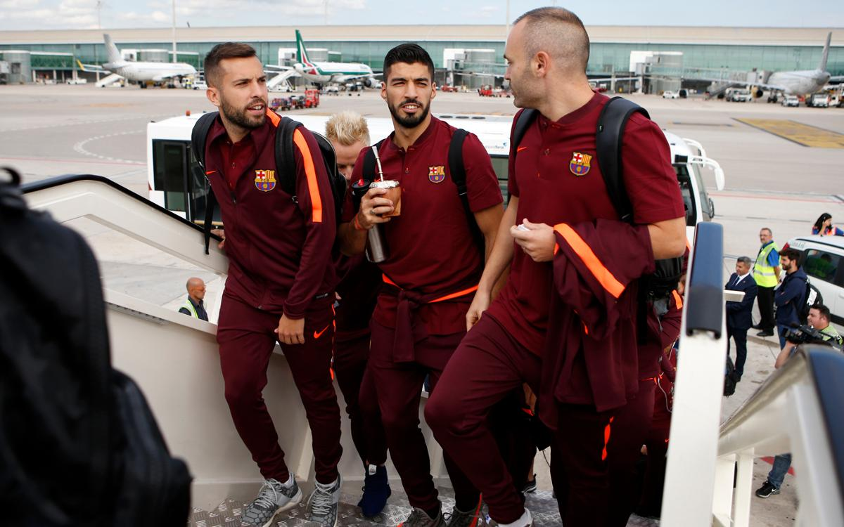 Barça are in Lisbon for UCL tilt